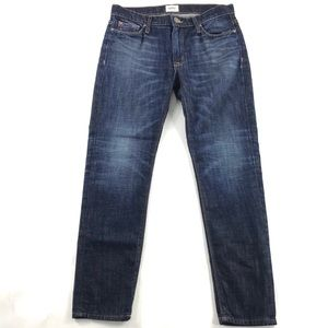 Hudson Jude Slouch Skinny Crop Jeans 25 Cotton
